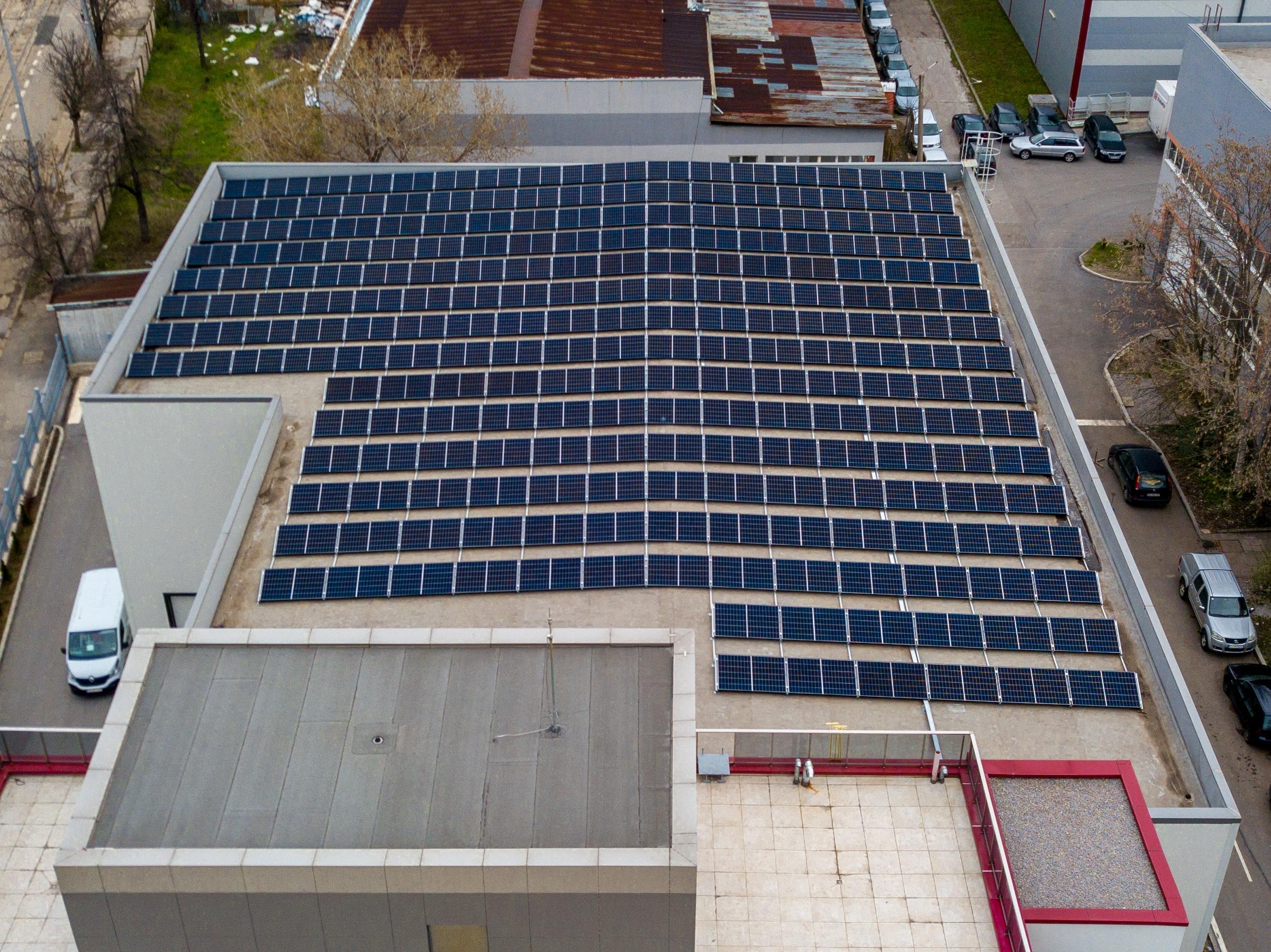 159kWp фотоволтаична система за собствено потребление