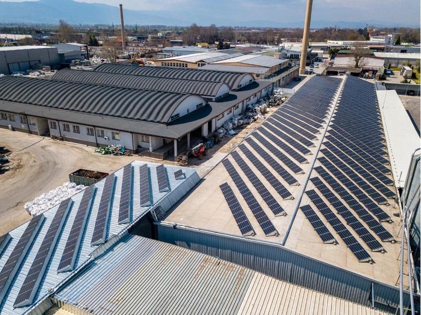 250kW мрежова фотоволтаична система за собствено потребление